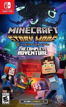 Carátula de Minecraft: Story Mode para Nintendo Switch