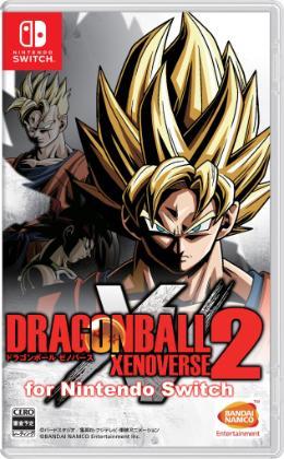 Carátula de Dragon Ball Xenoverse 2 para Nintendo Switch