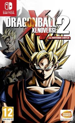 Carátula de Dragon Ball Xenoverse 2 para Nintendo Switch