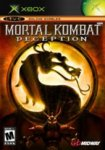 Car�tula de Mortal Kombat: Deception para Xbox