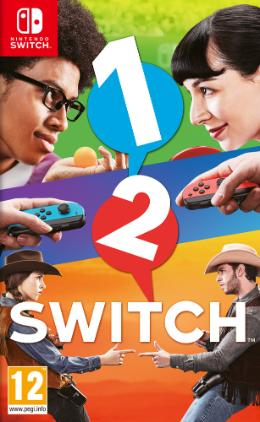 Carátula de 1-2 Switch para Nintendo Switch