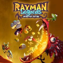 Carátula de Rayman Legends: Definitive Edition para Nintendo Switch
