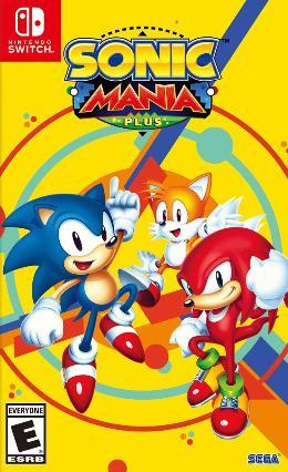 Carátula de Sonic Mania para Nintendo Switch