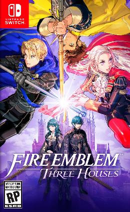 Carátula de Fire Emblem: Three Houses para Nintendo Switch