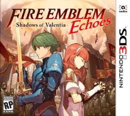 Carátula de Fire Emblem Echoes: Shadows of Valentia para Nintendo 3DS