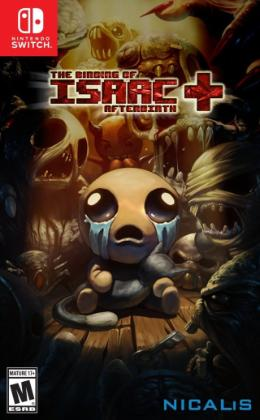 Carátula de The Binding of Isaac: Afterbirth +