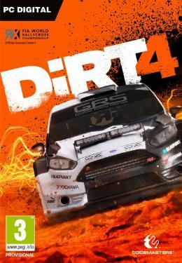 Carátula de DIRT 4 para PC