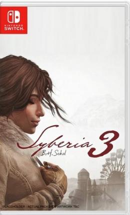 Carátula de Syberia 3 para Nintendo Switch