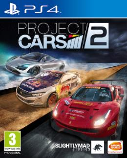 Carátula de Project CARS 2 para PlayStation 4