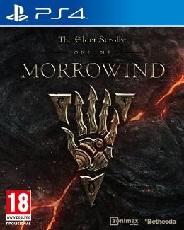 Carátula de The Elder Scrolls Online: Morrowind para PlayStation 4