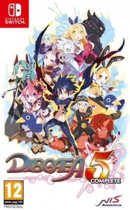 Carátula de Disgaea 5 Complete para Nintendo Switch