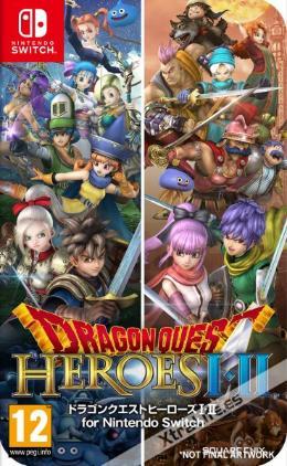 Carátula de Dragon Quest: Heroes I-II para Nintendo Switch