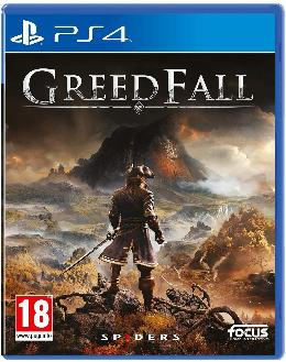 Carátula de GreedFall para PlayStation 4