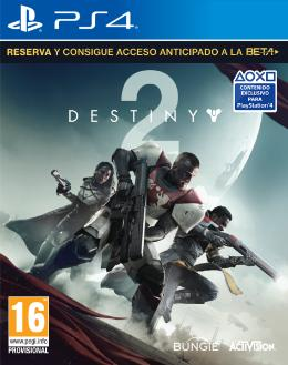 Carátula de Destiny 2 para PlayStation 4