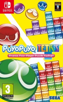 Carátula de Puyo Puyo Tetris para Nintendo Switch