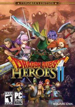 Carátula de Dragon Quest: Heroes II para PC