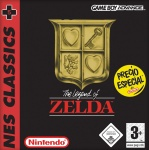 Carátula de NES Classics - The Legend of Zelda para Game Boy Advance