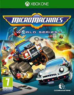 Carátula de Micro Machines World Series para Xbox One