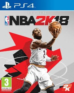Carátula de NBA 2K18 para PlayStation 4