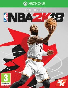 Carátula de NBA 2K18 para Xbox One