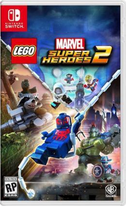 Carátula de LEGO Marvel Super Heroes 2 para Nintendo Switch