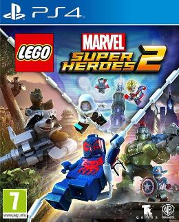 Carátula de LEGO Marvel Super Heroes 2 para PlayStation 4
