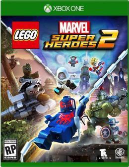 Carátula de LEGO Marvel Super Heroes 2 para Xbox One