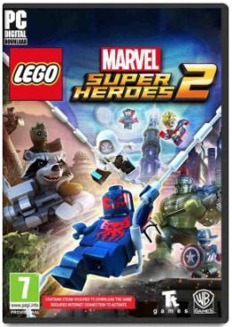 Carátula de LEGO Marvel Super Heroes 2 para PC