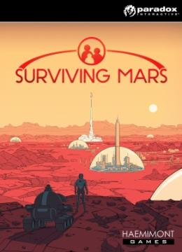 Carátula de Surviving Mars para PlayStation 4