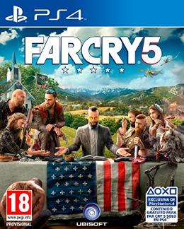 Carátula de Far Cry 5 para PlayStation 4