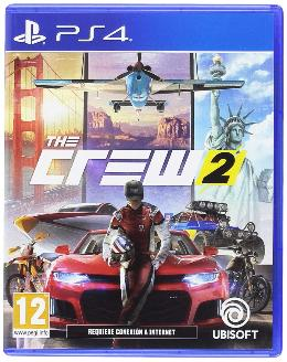 Carátula de The Crew 2 para PlayStation 4