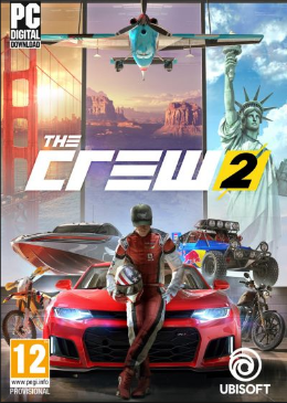 Carátula de The Crew 2 para PC
