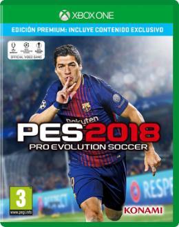 Carátula de Pro Evolution Soccer 2018 para Xbox One