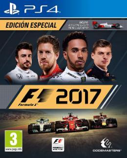 Carátula de F1 2017 para PlayStation 4