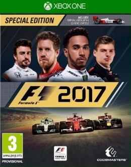 Carátula de F1 2017 para Xbox One