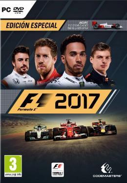 Carátula de F1 2017 para PC