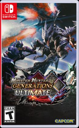 Carátula de Monster Hunter Generations Ultimate para Nintendo Switch