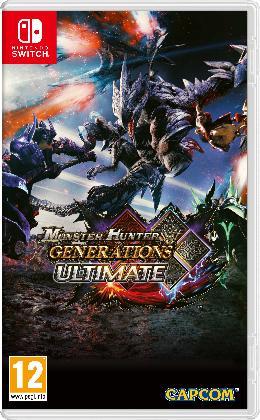 Carátula de Monster Hunter Generations Ultimate para Nintendo Switch