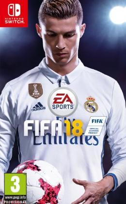 Carátula de FIFA 18 para Nintendo Switch