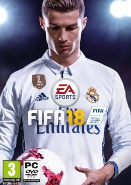 Carátula de FIFA 18 para PC