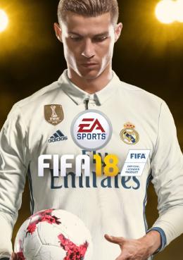 Carátula de FIFA 18 para Xbox 360