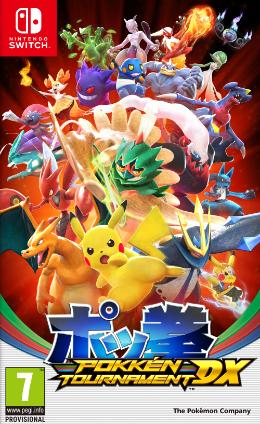 Carátula de Pokkén Tournament DX