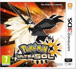 Carátula de Pokémon Ultrasol para Nintendo 3DS