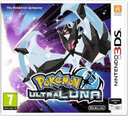 Carátula de Pokémon Ultraluna para Nintendo 3DS