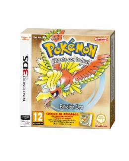 Carátula de Pokémon Oro para Nintendo 3DS