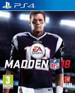 Carátula de Madden NFL 18 para PlayStation 4