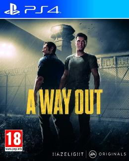 Carátula de A Way Out para PlayStation 4