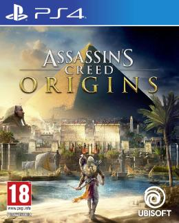 Carátula de Assassin's Creed Origins para PlayStation 4