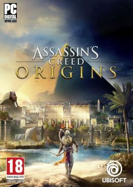 Carátula de Assassin's Creed Origins para PC