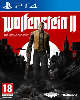 Carátula de Wolfenstein II: The New Colossus para PlayStation 4